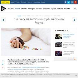 Un Français sur 50 meurt par suicide en France