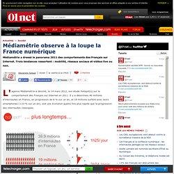 Les Français accros aux mobiles, aux réseaux sociaux et aux vidéos