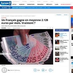 Un Français gagne en moyenne 2.128 euros par mois. Vraiment ?
