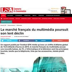 Le marché français du multimédia poursuit...