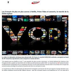 Les Français de plus en plus accros à Netflix, Prime Video et consorts, le marché de la SVOD explose