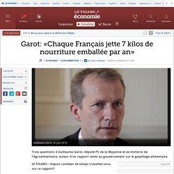 Garot: «Chaque Français jette 7 kilos de nourriture emballée par an»