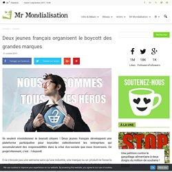 Deux jeunes français organisent le boycott des grandes marques