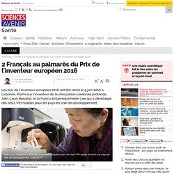 2 Français au palmarès du Prix de l'inventeur européen 2016