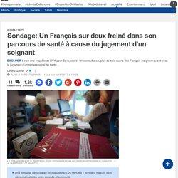 Sondage: Un Français sur deux freiné dans son parcours de santé à cause du jugement d'un soignant