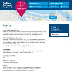 Francais - Parking Centrum