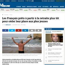 Les Français prêts à partir à la retraite plus tôt pour céder leur place aux plus jeunes