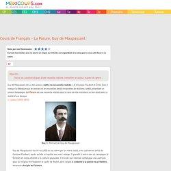 Cours de Français - La Parure, Guy de Maupassant