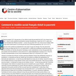 Comment le modèle social français réduit la pauvreté