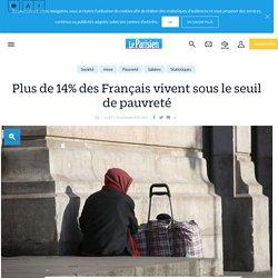 Plus de 14% des français vivent sous le seuil de pauvreté - le Parisien
