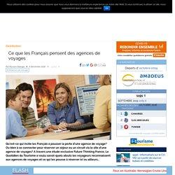 Ce que les Français pensent des agences de voyages