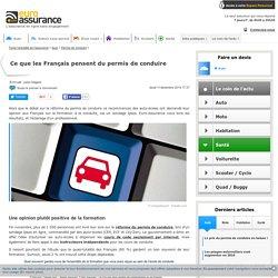 Ce que les Français pensent du permis de conduire