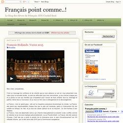Français point comme..!: COB1