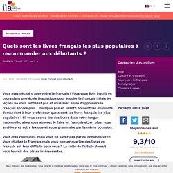 Livres français les plus populaires pour débutants