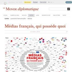 Presse française : qui possède quoi, par Marie Beyer & Jérémie Fabre (Le Monde diplomatique, juillet 2016)