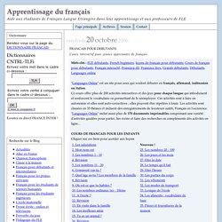 FRANCAIS POUR DEBUTANTS