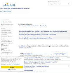 Français pour les enfants