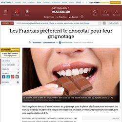 Les Français préfèrent le chocolat pour leur grignotage