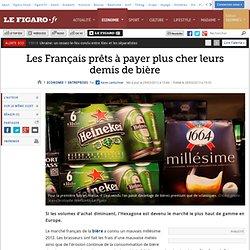 Les Français prêts à payer plus cher leurs demis de bière