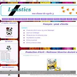 Français : prod. d'écrits