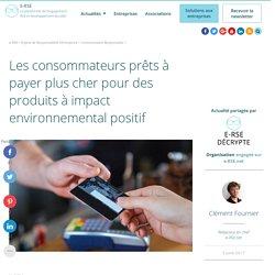 Les français prêts à payer plus cher pour des produits écologiques
