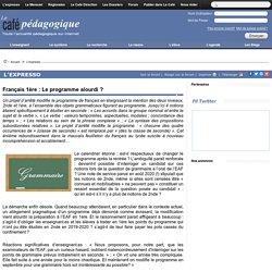 Français 1ère : Le programme alourdi ?