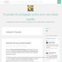 Français – Un projet de pédagogie active avec une classe mobile