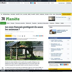 LE MONDE PLANETE 05/05/12 Les zoos français protègent-ils assez les animaux ?