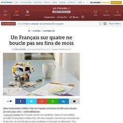 Un Français sur quatre ne boucle pas ses fins de mois