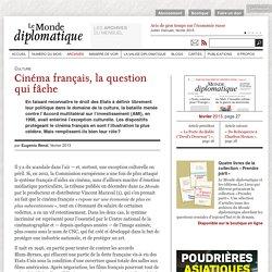 Cinéma français, la question qui fâche, par Eugenio Renzi