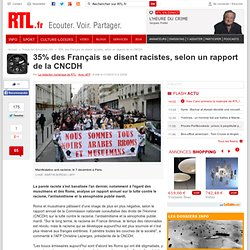 35% des Français se disent racistes, selon un rapport de la CNCDH