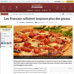 Les Français raffolent toujours plus des pizzas