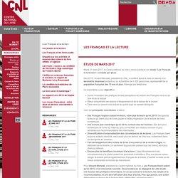 Les Français et la lecture - Études et rapports du CNL - Ressources - Site internet du Centre national du livre