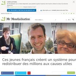 Ces jeunes français créent un système pour redistribuer des millions aux causes utiles