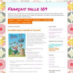 Français salle 109: Les réécritures de Roméo et Juliette