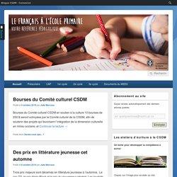 Le français à l'école primaire – CSDM – Votre référence pédagogique