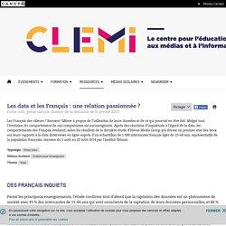 Les data et les Français : une relation passionnée ?- CLEMI