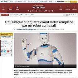 Un Français sur quatre craint d'être remplacé par un robot au travail