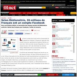 Les Français sont accros aux réseaux sociaux
