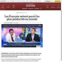 Les Français restent parmi les plus productifs au monde