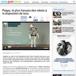 Poppy, le plus français des robots à la disposition de tous