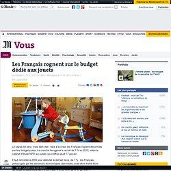 Les Français rognent sur le budget dédié aux jouets