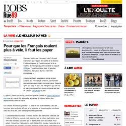 Pour que les Français roulent plus à vélo, il faut les payer