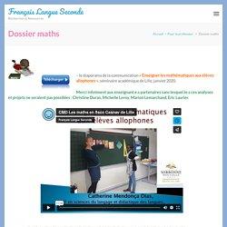 Français Langue SecondeDossier maths