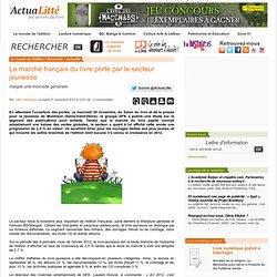 Le marché français du livre porté par le secteur jeunesse