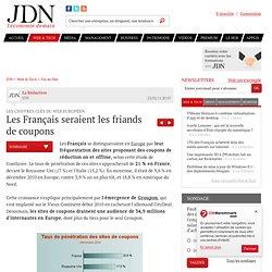 Les Français seraient les friands de coupons - Internet Europe