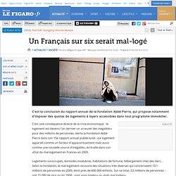 France : Un Français sur six serait mal-logé