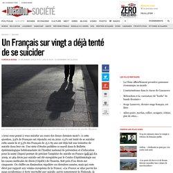 Un Français sur vingt a déjà tenté de se suicider