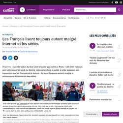Les Français lisent toujours autant malgré internet et les séries