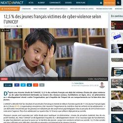 12,5 % des jeunes français victimes de cyber-violence selon l'UNICEF